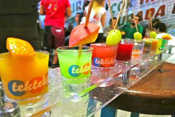 Letní drinky a míchané nápoje