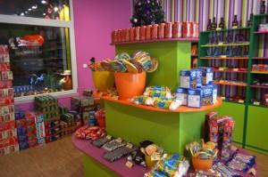 Prodejna Candy Store vás překvapí příjemnou atmosférou a pestrou nabídkou.