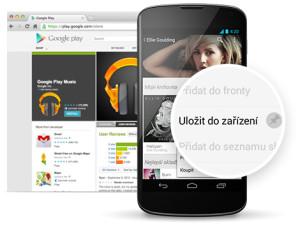 Skladby můžete poslouchat i ve svém zařízení s Androidem